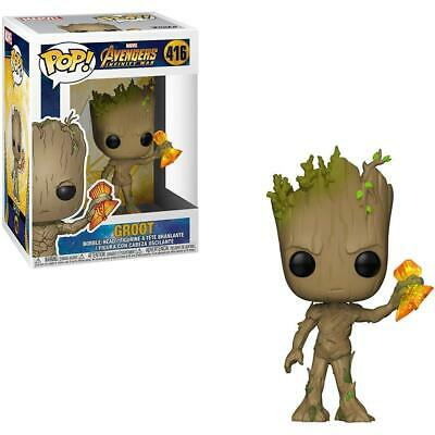 Marvel Avengers Infinity War #416 - Groot with Stormbreaker - Funko Pop! Marvel