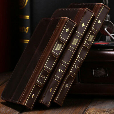 For Samsung Galaxy Phones Retro Leather Vintage Book Flip Wallet Card Case Cover
