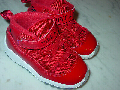 c59a1e2ee90 AIR JORDAN RETRO 3 Fire Red Toddler 6C Nike Sneakers Baby Shoes ...