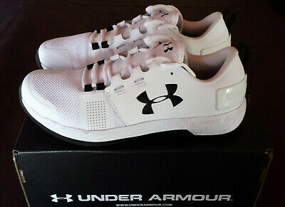 pretty nice 63701 9476e UNDER ARMOUR MENS Commit TR X NM Training Shoes White Black Size 10 NEW  WITH BOX