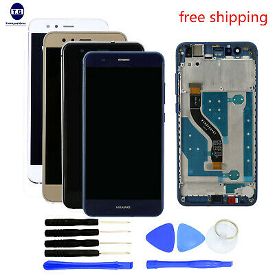 NEW  LCD Screen Display + Digitizer Touch+Frame+Tools For HUAWEI P10 LITE