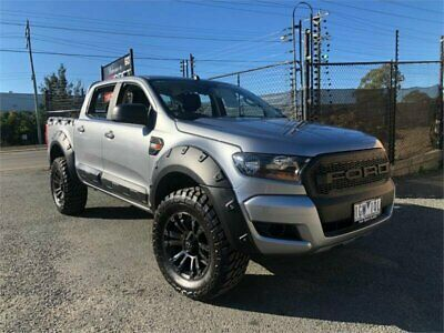 2016 Ford Ranger PX MkII XL Grey Automatic A Utility
