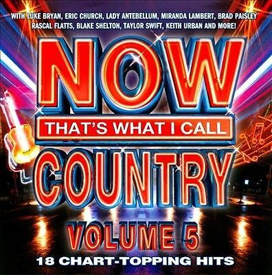 Now That's What I Call Country, Vol. 5 by Various Artists (CD, Jun-2012, Univers