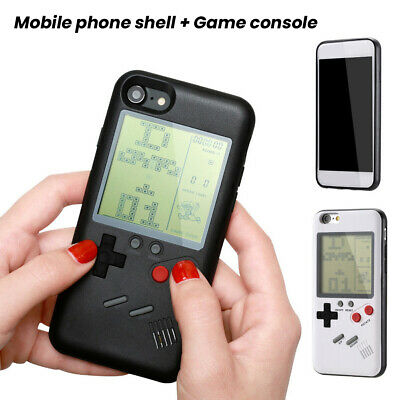 Retro Tetris For Gameboy Console Phone Case Cover for iPhone X 8 Plus 7 8 6S XS