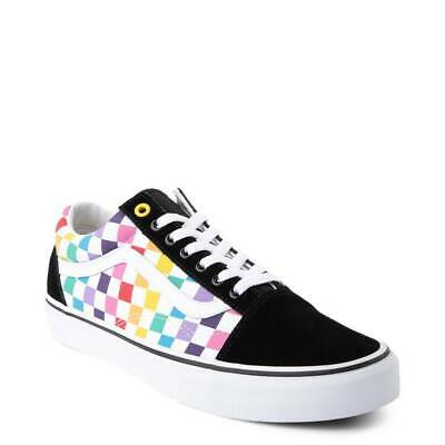 VANS OLD SKOOL checkerboard primary black/white unisex sneaker ...