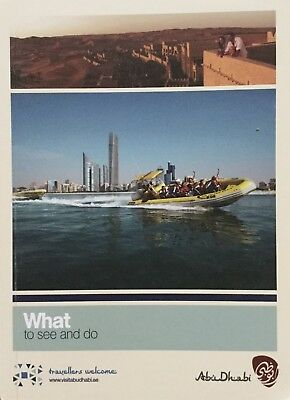 ABU DHABI 158 page Guide - What to see and do - Free UK Postage
