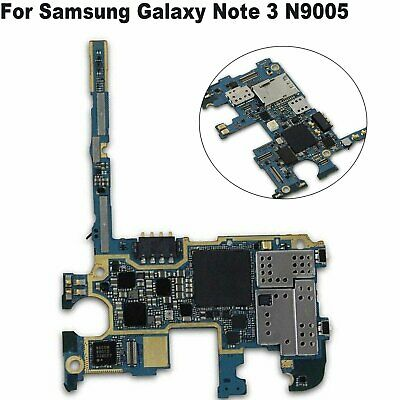 Main Motherboard/Logic Board Part For Samsung Galaxy Note 3 N9005 32GB Unlocked