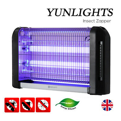 20W Electric Insect Mosquito Fly Killer Bug Zapper UV Home Kitchen Indoor UK