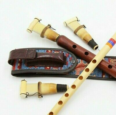 DUDUK  ARMENIAN 3 reeds + best case+ flute FROM ARMENIA Hand made APRICOT WOOD