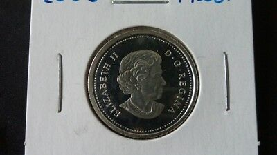 2005 Proof .25 Cent Coin