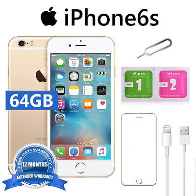 Apple Iphone 6S 64Gb Oro  Gold Accesorios De Regalo 1 Año De Garantía