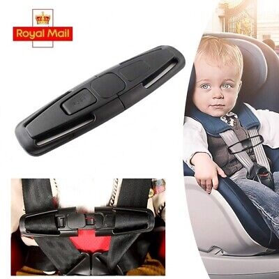 Car Baby Safety Seat Strap Belt Harness Chest Child Clip Buckle Latch UK