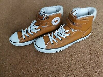 ed5ebbb42b19dc Mens Converse All Stars Hightops Size 11 Brown, Worn Roughly Five Times