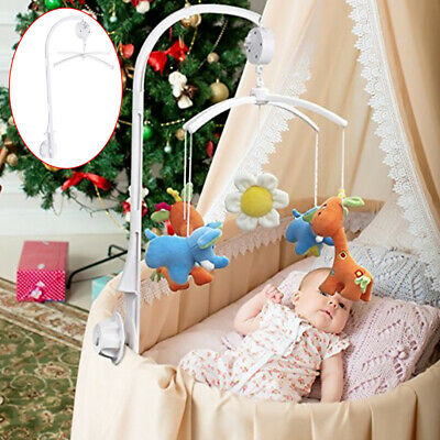 Song Bed Bell Kids Crib Musical Mobile Cot Music Box Gift Baby Rattles Toy U1