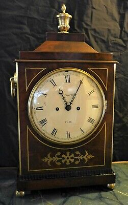 Early 19th Cent Mahogany Bracket Clock