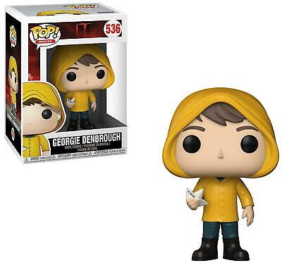 IT #536 - Georgie Denbrough with Boat - Funko Pop! Movies (Brand New)