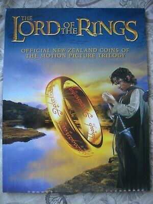 New Zealand 2003 LORD OF THE RINGS 18 x 50 Cents UNC Coin Set by Royal Mint