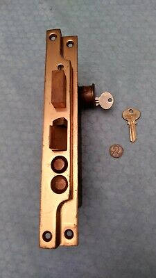 RHC Rabbited Cylinder Door Mortise Lock Large NOS