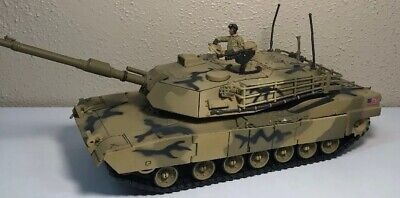 Diecast Unimax Toys Forces of Valor US Army M1A1 Abrams Main Battle Tank 1:32