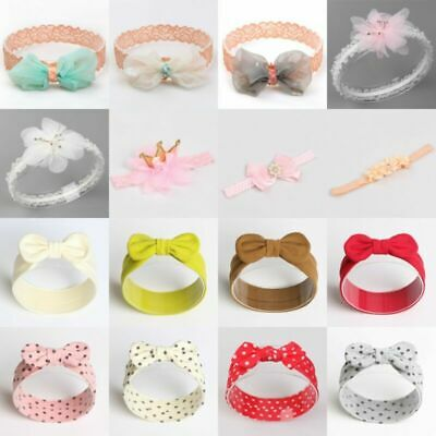 For Girl Baby Kids  Hair Decor Hair Bows Headband Band  Boutique Clip Ribbon
