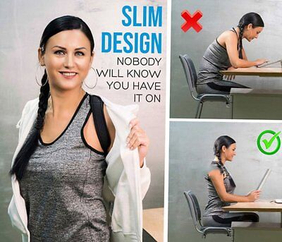 Posture Corrector  Shoulder Support Brace Adjustable Support Unisex
