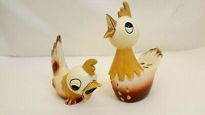Vintage 1958 Holt Howard Chicken Pencil Holder Sharpener Mid Century Rooster
