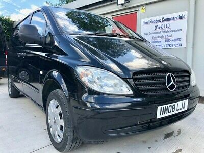 2 Former Keeper 2008 Mercedes-Benz Vito 111 CDI Compact Panel Van - PX TO CLEAR