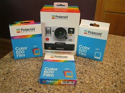 NEW Polaroid Onestep2 i-Type Camera White AND 3 packs 600 Core Film one step two