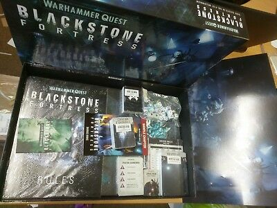 WARHAMMER QUEST BLACKSTONE FORTRESS GAME (no Miniatures) 40K 40000 CHAOS