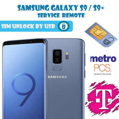 Samsung Galaxy  S9/S9 Plus T-Mobile G960U Remote Unlock Service