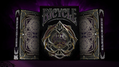 Limited Edition Bicycle Black Magic Playing Cards Deck Brand New Sealed