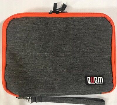 BUBM Double Layer Electronic Accessories Organizer Travel Gadget Bag for USB