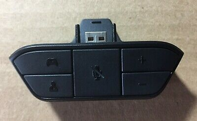 Official Microsoft Xbox One Stereo Headset Adapter (Model: 1626) Genuine/OEM
