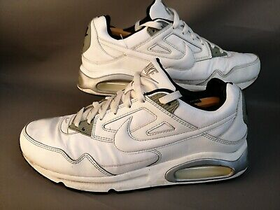 NIKE AIR MAX Skyline Leather Shoes White Trainers 409999 100