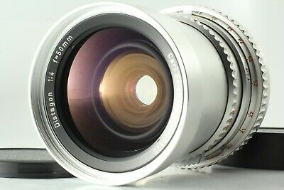 【 EXC++++ 】 HASSELBLAD Carl Zeiss Distagon C 50mm f/4 Chrome from JAPAN #690