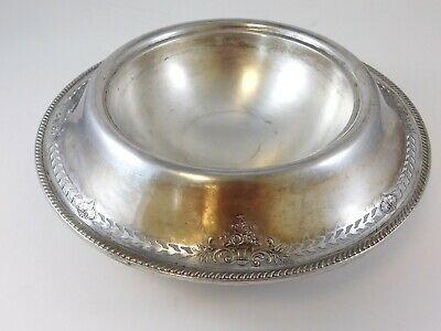 Antique JE Caldwell & Company Footed Bowl Pierced Rim Sterling Silver 750G B796