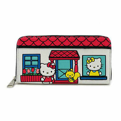 0bbb7b8dd HELLO KITTY LEATHER Checkbook Cover Hello Kitty's Brand New Hair ...