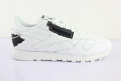 Femme Baskets Classic Reebok Leather Pastel Taille Chaussures Rose A35RjL4