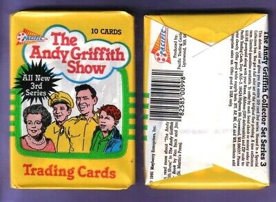 Lot of 4 Andy Griffith Show Trading Cards Series 3 Wax Packs