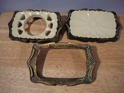 3 pieceAmerock Carriage House Soap & Toothbrush Holder