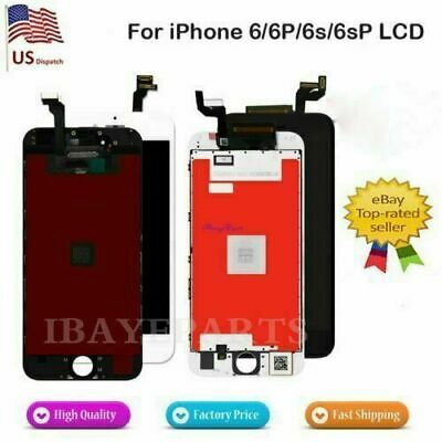 new styles 1bb69 303e3 LCD TOUCH DISPLAY Screen Digitizer Assembly Replacement For iPhone ...