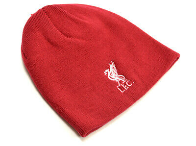 Official Liverpool  FC   Beanie  Hat Crested Red     FREE (UK) P+P