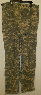 US Military ARMY ACU DIGITAL Camo Camouflage Combat Pants - BDU MEDIUM - REGULAR