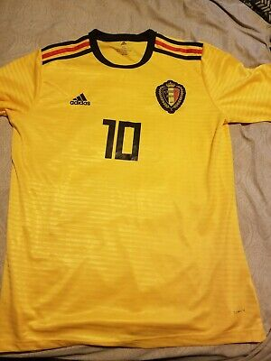 69c3de2a63d Brand New Official Adidas Belgium 2018 Away Jersey BQ4536 Men's Size (M)  $90.