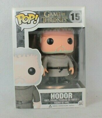 Funko Pop Hodor Vinyl Figure 15 Game of Thrones GOT Vaulted