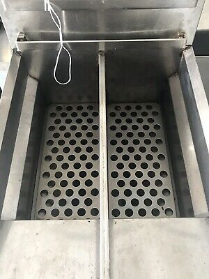 Commercial natural Gas deep Fryer