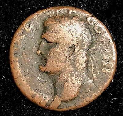 Agrippa 37-41AD Ancient Roman AE As Neptune 26.5mm 9.7g Nice Circulated Example