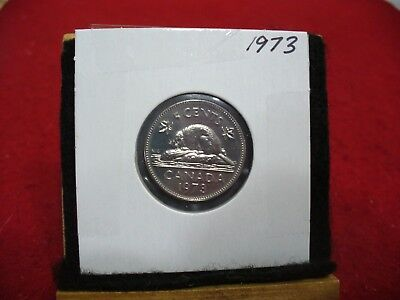 1973  Canada  1  Nickel 5 Cents  Coin  Proof Like Sealed   High  Grade