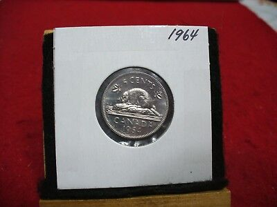 1964  Canada  1  Nickel 5 Cents  Coin  Proof Like Sealed   High  Grade