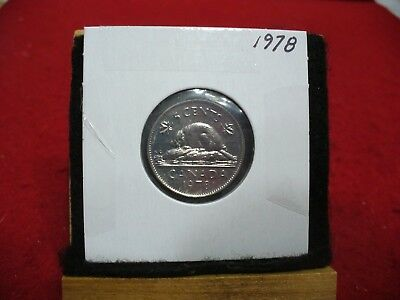 1978  Canada  1  Nickel 5 Cents  Coin  Proof Like Sealed   High  Grade